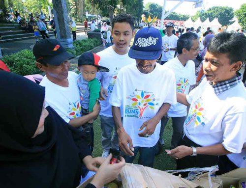 Carica Sumbing Berpartisipasi Dalam Rekor Muri Carica Day Wonosobo