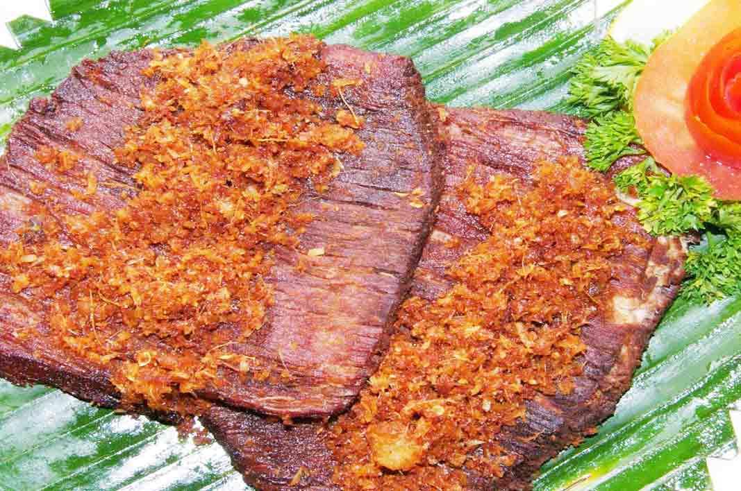 dendeng gepuk kuliner khas wonosobo