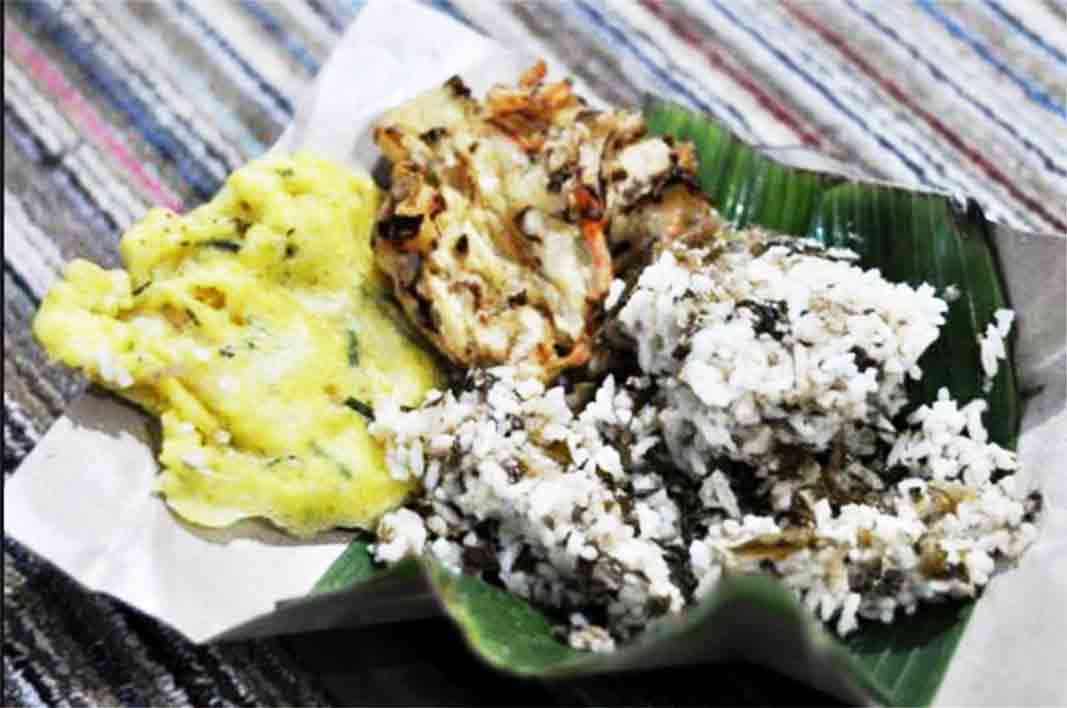 Nasi megono khas wonosobo